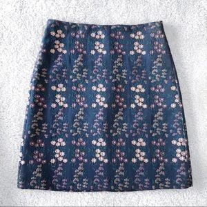 Petite Ann Taylor A-Line Skirt